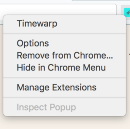 Why I created Timewarp (Chrome Extension)
