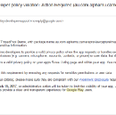 Did you get one of these Google Play Developer Policy Violation Emails?