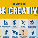 31 Ways You Can Get More Creative