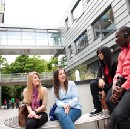 Why do so many students from outside the UK choose to study in London?
