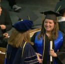 Commencement with the Kissing Disease
