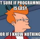 Programming isn't easy, coding is.