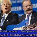 Sean Spicer and Marc Kasowitz form Hall & Oates tribute band 'No Can Do!'