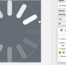Create a simple spinner icon in Sketch