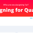 Who are we designing for? The quality and standards teams (Part 3 of 3)