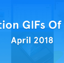 UI Interaction GIFs Of the Month — April 2018