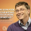 Never Be Reasonable with Being Poor