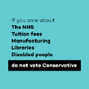 Shareable graphics for the general election