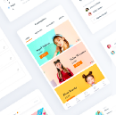 UI/UX Case Study of Saloon Booking app
