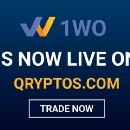 First of its kind 1WO media token by 1World Online is getting listed on QRYPTOS cryptocurrency…