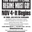 Refuse Fascism Nationwide Protests November 4th, what are they really about?