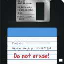 How many floppy disks do you need to fit an article from The Atlantic?