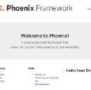 Bootstrapping a Phoenix/Elm Project