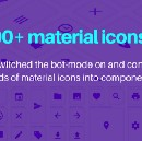 I got 1000+ material icons converted manually in Figma