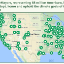 383 #ClimateMayors adopt, honor and uphold #ParisAgreement goals