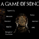 A Game Of Songs. The Music Streaming Challenge