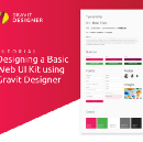 Designing A Basic Web UI Kit Using Gravit Designer