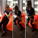 Unbounce Reveals New Bean Bag Chair Escape System to Boost Company Productivity