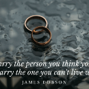 Life lessons on marriage