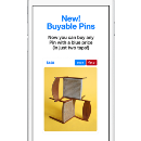 Designing Buyable Pins