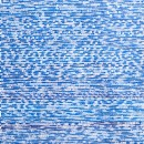 Blue Dashes in Rows with Slight Variations in Thickness (2016)