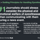 Eyewitness Media Hub launch Guiding Principles for Journalists