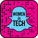 Women in Tech Snapchat Takeover at Tech Inclusion