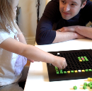 How I taught my 2 year old daughter to make her own video game.