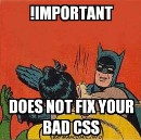 If CSS is so easy why does everyone suck?