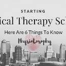 Starting Physical Therapy School?
