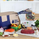 "I tried using the subscription food service ""Blue Apron""."