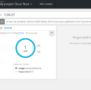 Creating new application on Openshift