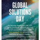 Co-creating the world's first Global Solutions Day !