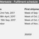 Shipping status for reMarkable pre-orders