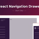 React Navigation Drawer Tutorial