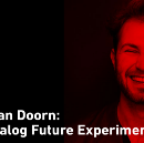 The analog future, by escape room and laser artist Victor van Doorn