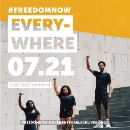 #FreedomNow: Eyes on the Prize