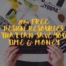 200+ Free Design Resources That Can Save You Time & Money