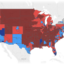 If Facebook Could Vote, the House of Reps Might Have 41 More Democrats