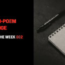Poems Of The Week 002: Without Warning, You Go Completely Blind. How Do You React?