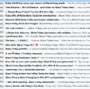 I hate Black Friday. Please stop spamming me.
