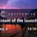 Crypterium Keynote: Product Launch & ICO Summary. Join the Live-Stream!