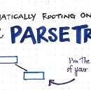 Grammatically Rooting Oneself With Parse Trees