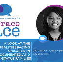"""REGISTER FREE for """"A look at the realities facing children in undocumented/mixed-status families."""""""