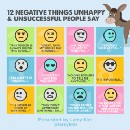 12 Destructive Things Unsuccessful People Tell Themselves Every Day