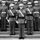 Trump Breaks Out His Old Military Academy Uniform To Meet With Generals