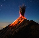 The Story Behind These Heart-Stopping Photos of Volcano Fuego Erupting