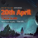 Important update — Kryll.io ICO extended to April 20th & max supply reduced to 72M KRL