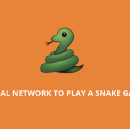 Neural Network to play a snake game