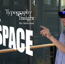 Designing Typography Insight for HoloLens